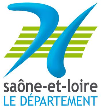 Logo du département Saône-et-Loire